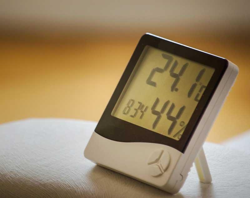 Idealer Haus-Luftfeuchtigkeit schimmel