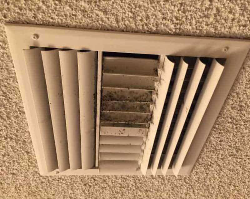 Inspektion für Lüftungs- und Luftfeuchtigkeit