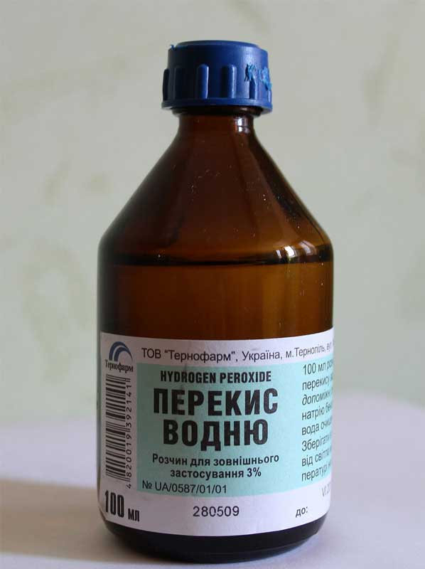 Verwendung von Wasserstoffperoxid